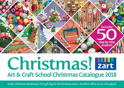 Art and Craft School Christmas Catalogue 2017