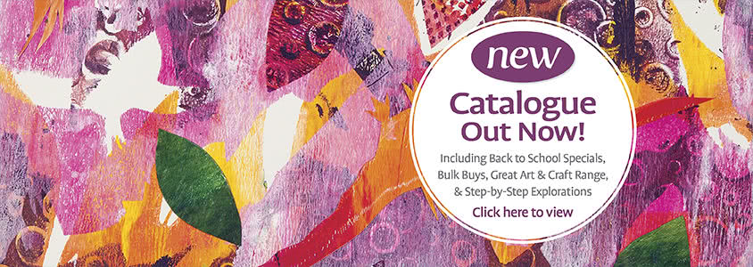 New Catalogue Out Now! 50 step-by-step projects, special offers and new product range.