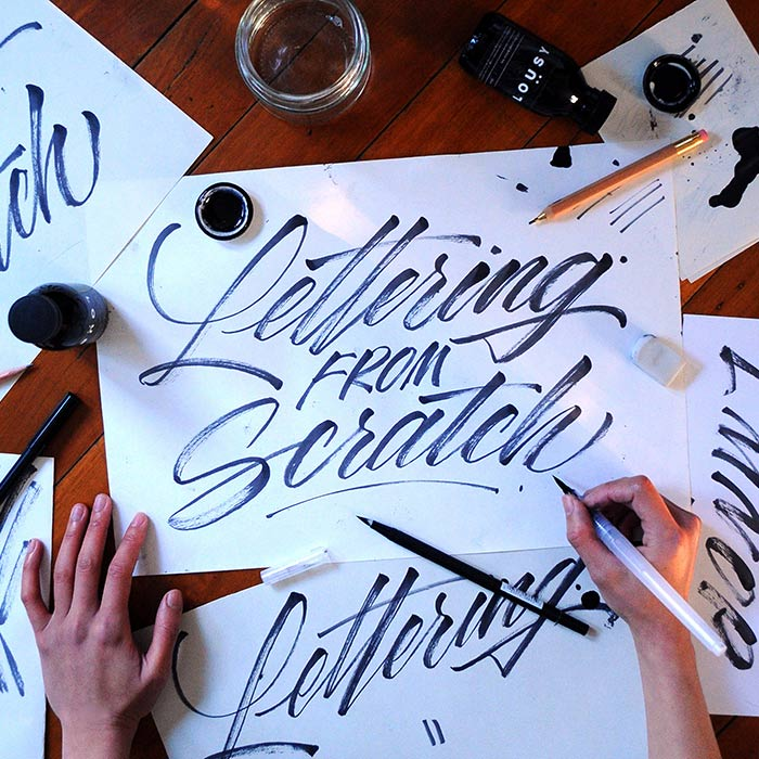 Lettering From Scratch