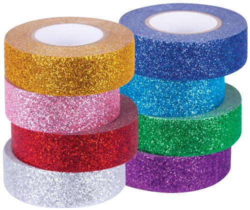 Washi Tape 8's Glitter