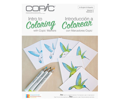 Intro to Coloring with Copic Markers - ZartArt Catalogue