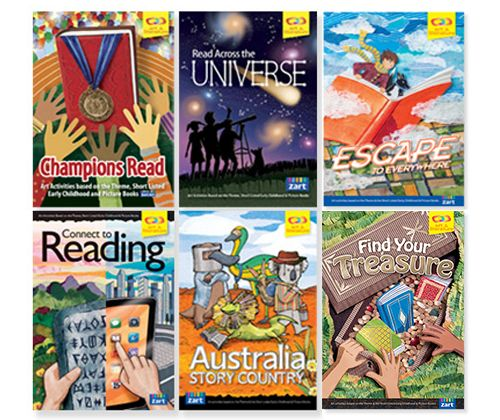 Book Week Companion Pack 2018 (6 books) - ZartArt Catalogue