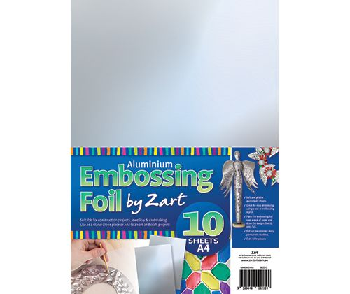 Alum Embossing Foil A4 10's