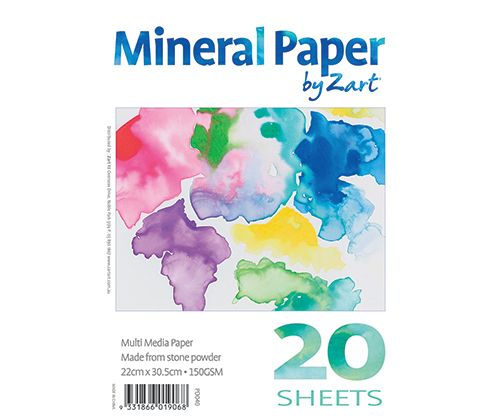 Mineral Paper Pad A4 20's