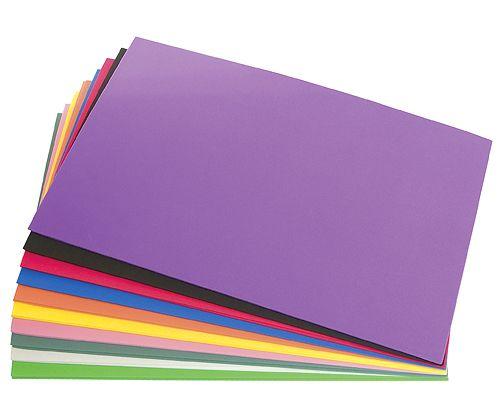 Craft Fun Foam Sheet 20's Asst
