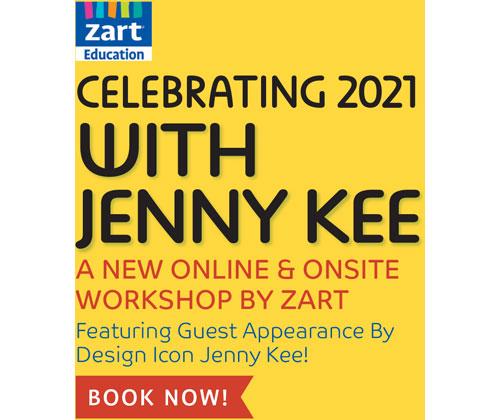Celebrating 2021 with Jenny Kee (Online K)