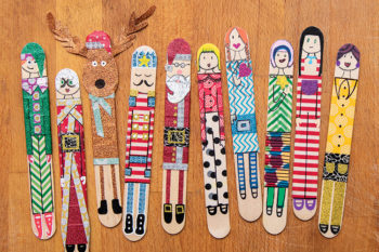 Giant Popstick Characters