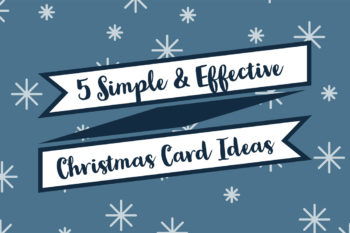 5 Simple Christmas Card Making Ideas Banner