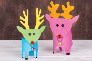 Colourful Reindeer