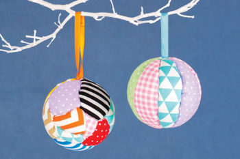 Patchwork Baubles
