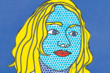 Pop art inspired portraits