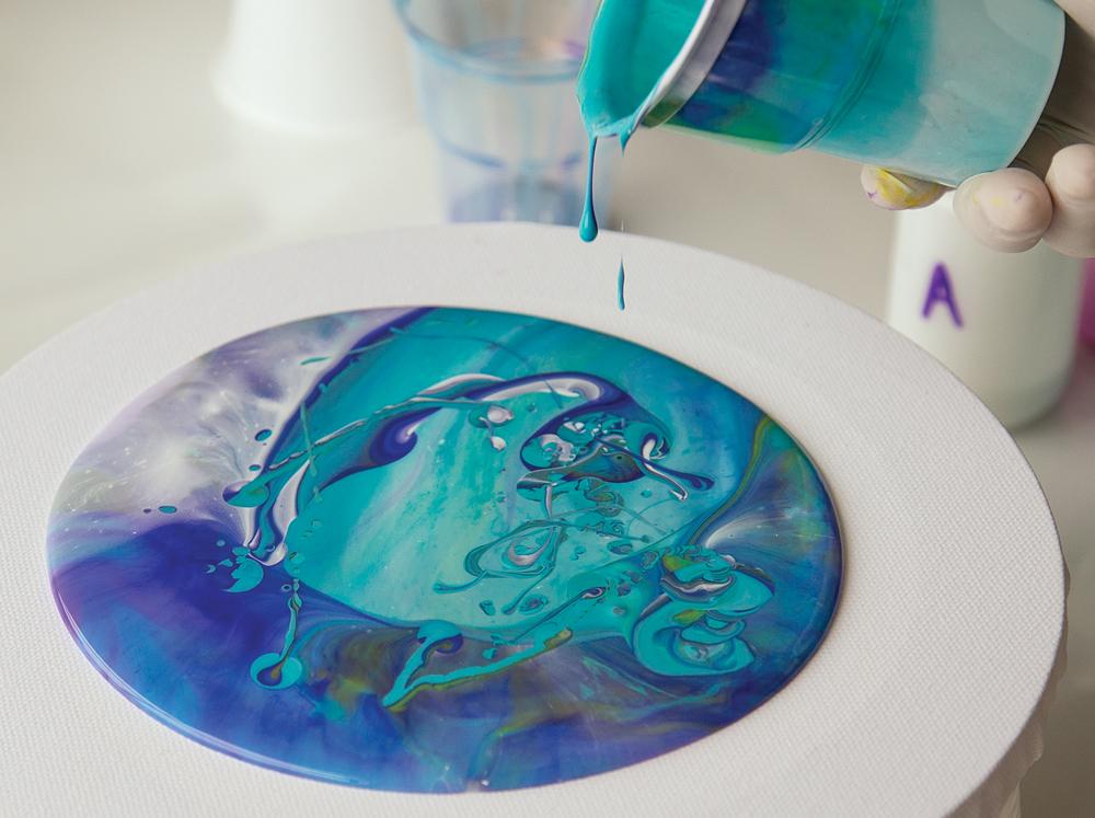 acrylic pouring medium zartart