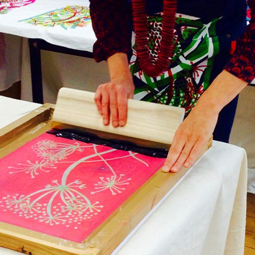 Fabric Printing with Anna Kolusniewski