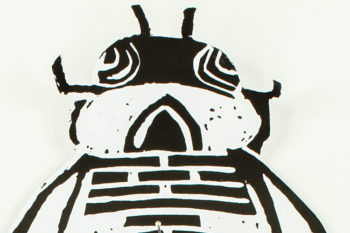 Lino Print Insects