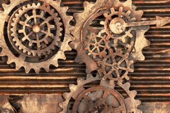 Steampunk Machine Plates