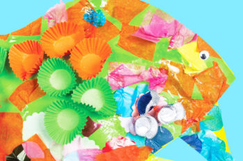 3D Sea-Creatures Inspired by Eric Carle & Marimekko