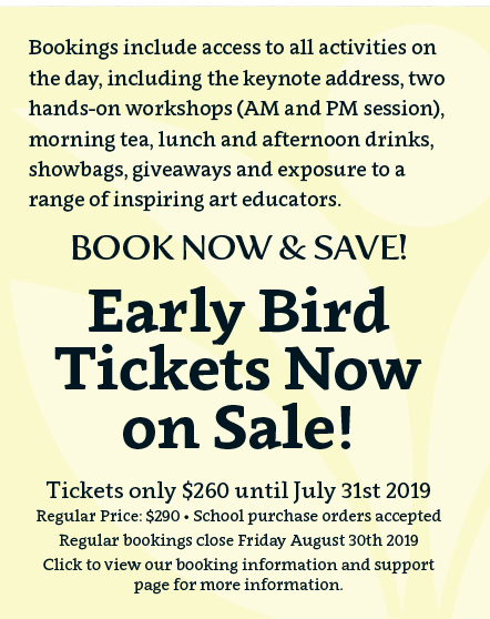 Conference Bookings Early Bird Open