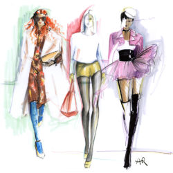 Introduction to Fashion Illustration by Angie Rehe