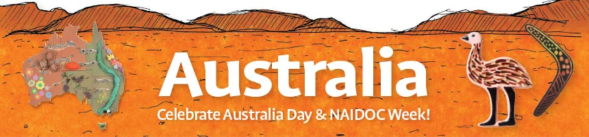 Australia - Celebrate Australia Day & NAIDOC Week!