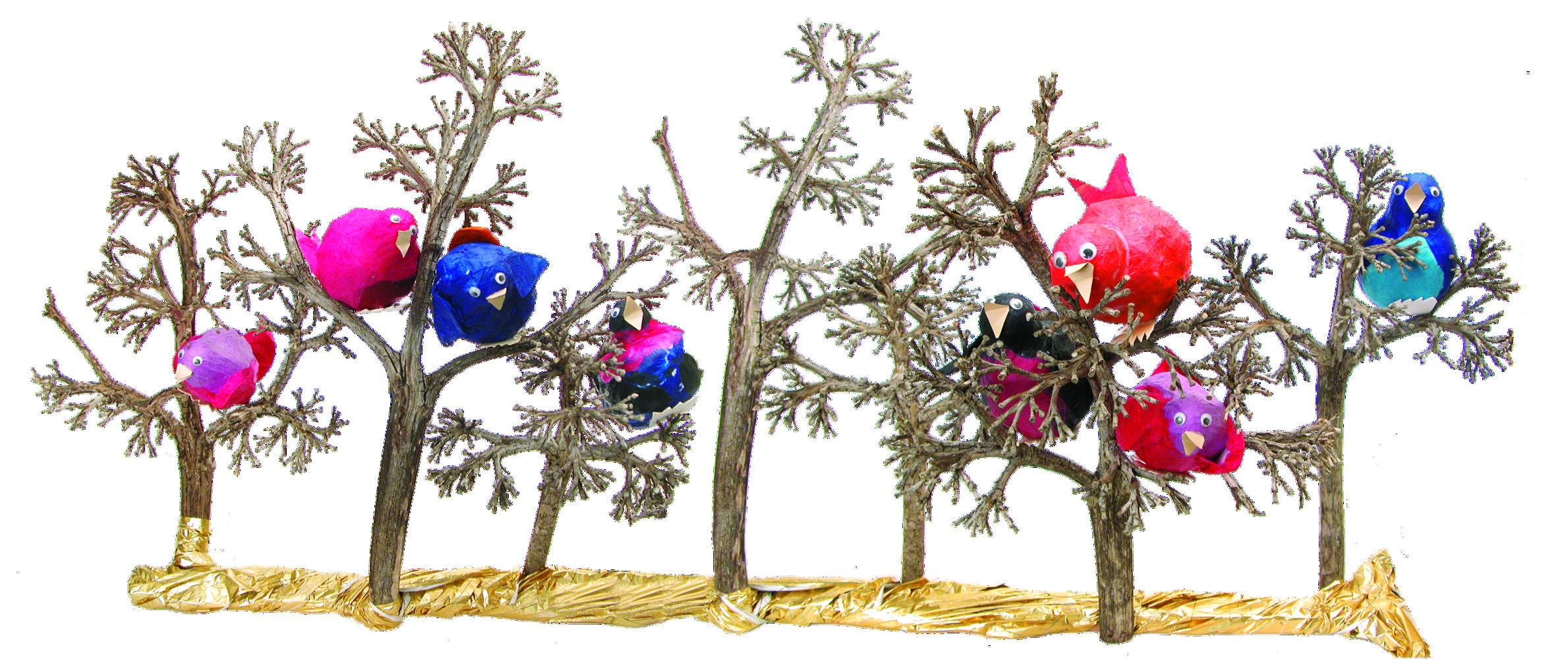 Birds In Trees 4