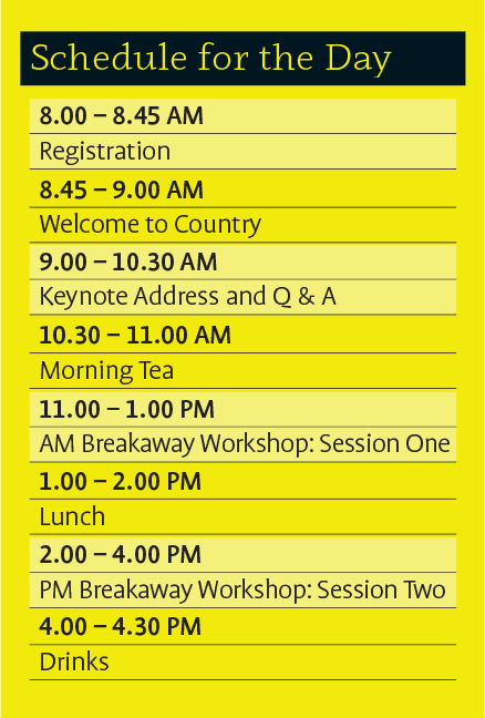 Conference Schedule Generic