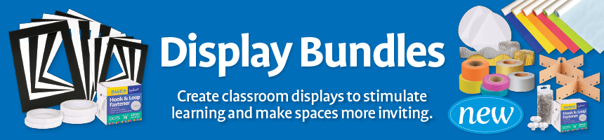 Display Bundles - Create classroom displays to stimulate learning and make spaces more inviting.