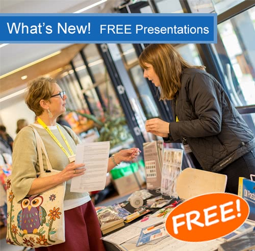 What's New! Free Presentation & Networking Events 2019