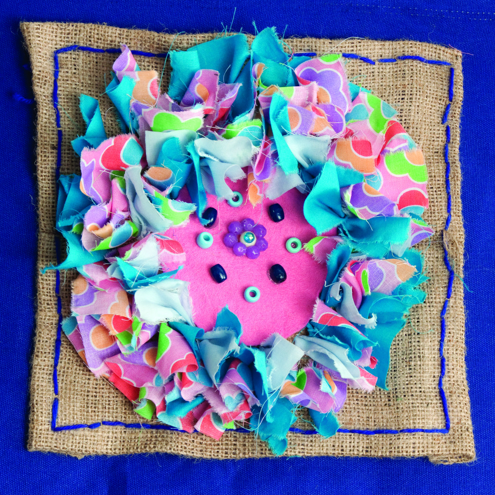 Flowers Wallhanging 6