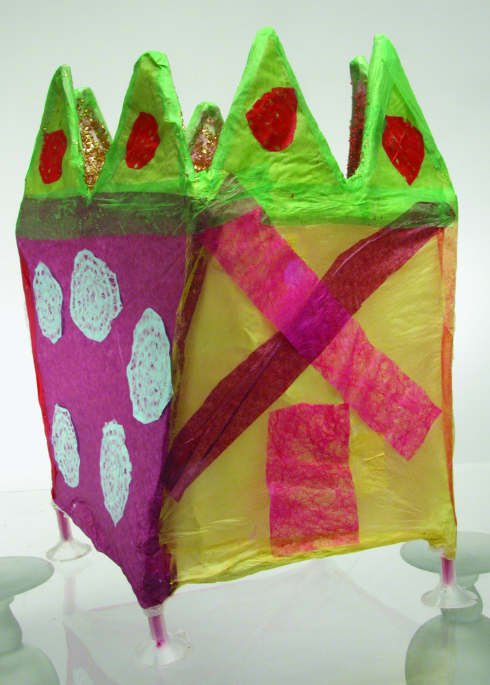 Magic Tissue Paper Buildings 10