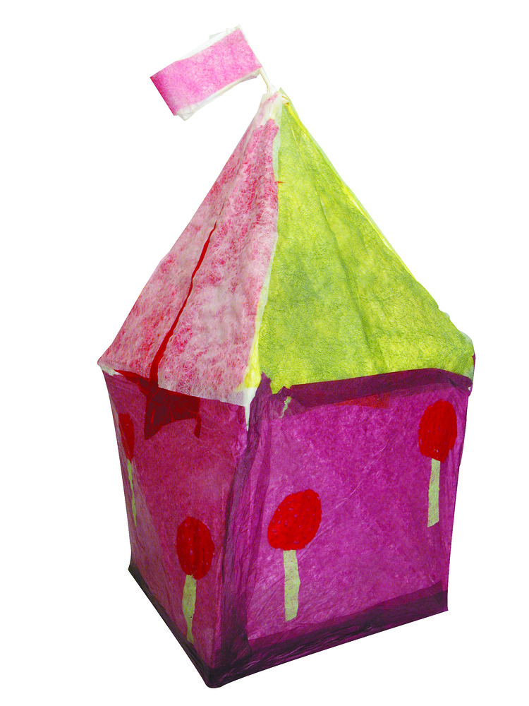 Magic Tissue Paper Buildings 4