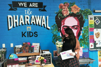 Art Teacher Interview with Mariah Calman in her classroom