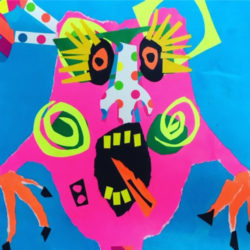 Monster Madness Art Lesson by Kylie Wickham