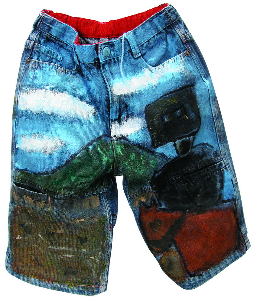 Painted Jeans 7