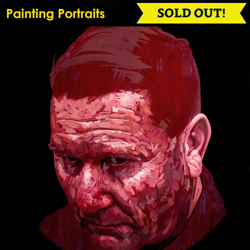 Icon Image Painting Portraits SOLD OUT NC Conf 2019