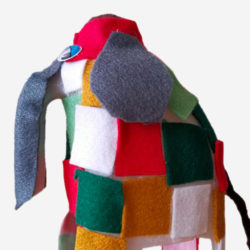 Patchwork Elmer the Elephant Home Learning Lesson Plan