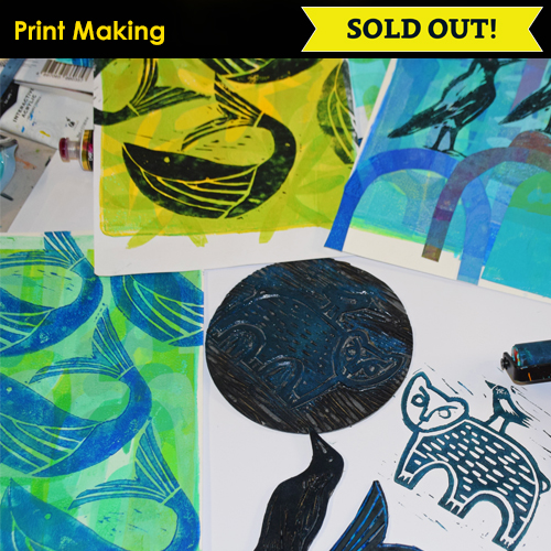Icon Image Print Making SOLD OUT NC Conf 2019