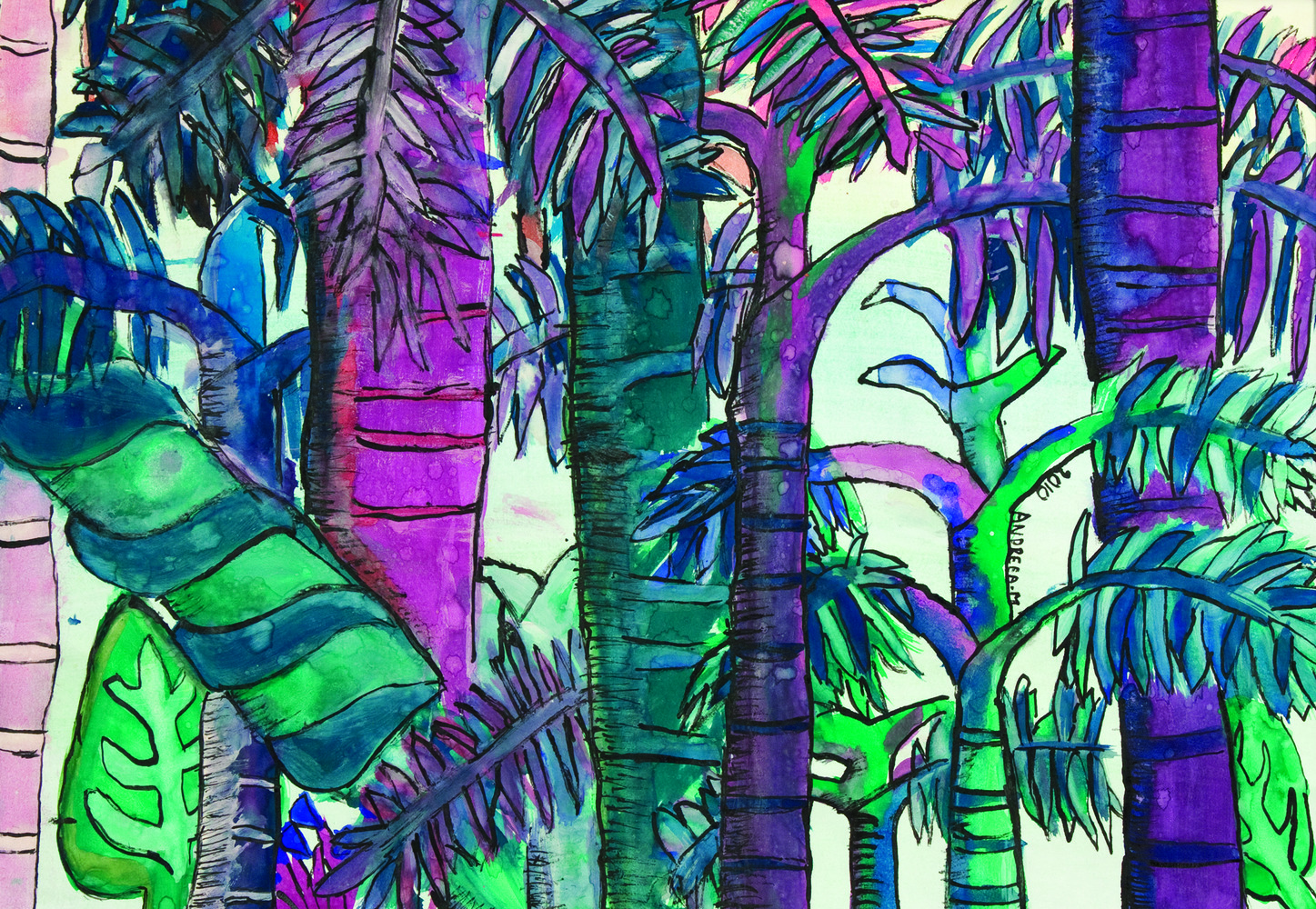 Rainforest Paintings 12