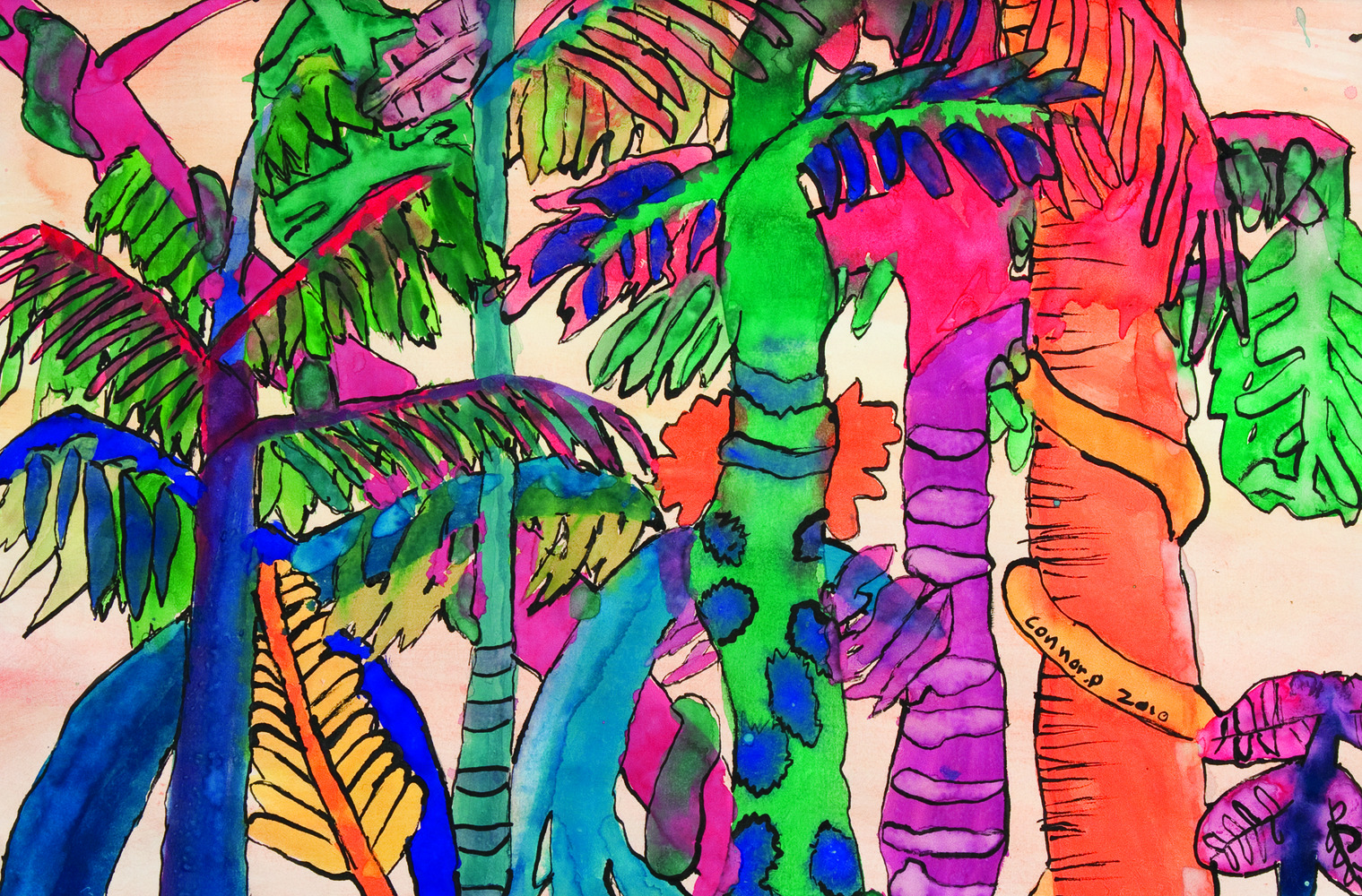 Rainforest Paintings 14