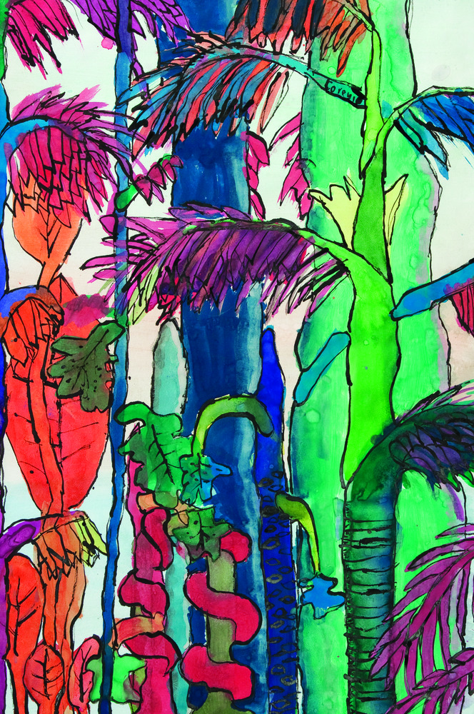 Rainforest Paintings 18