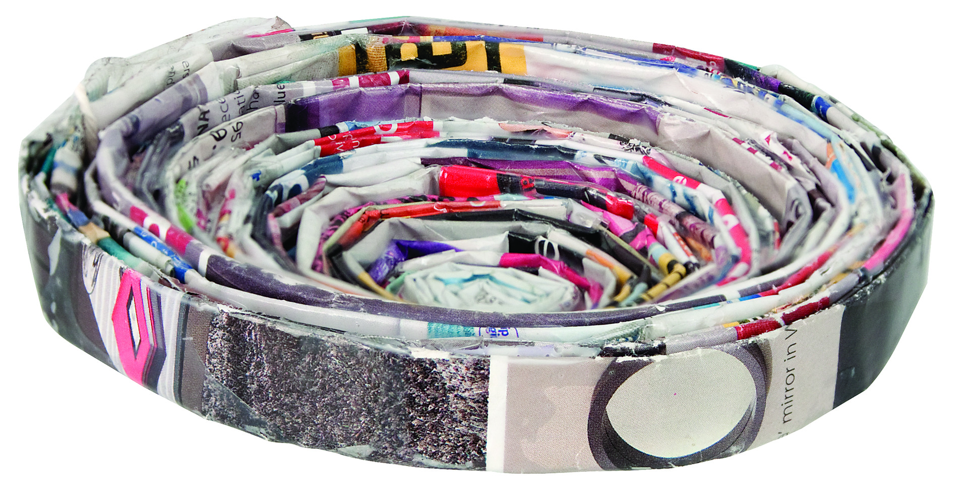 Recycled Magazine Bowls 2