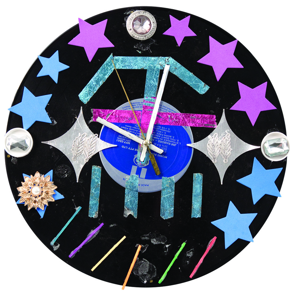 Recycled Record Clocks 5