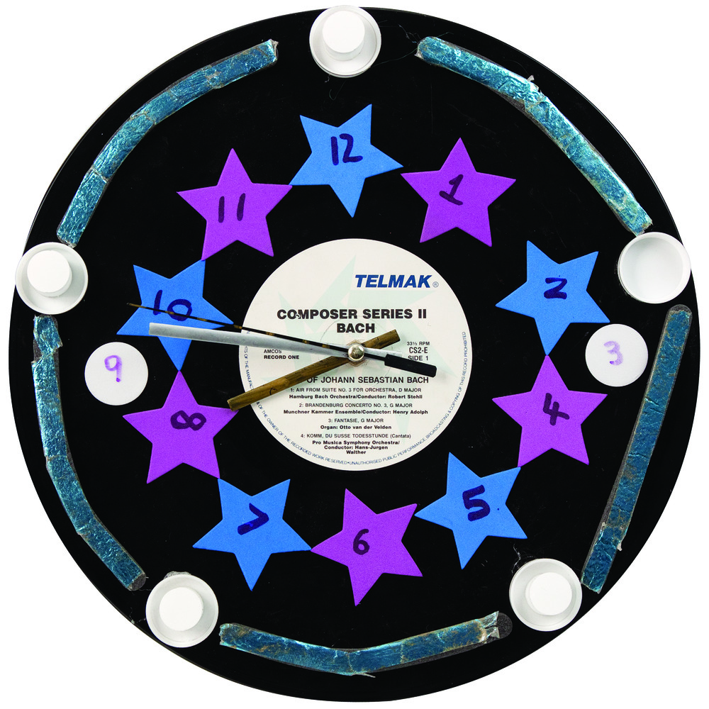 Recycled Record Clocks 7