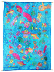 Asian Designs Silk Painting Term 3 2010