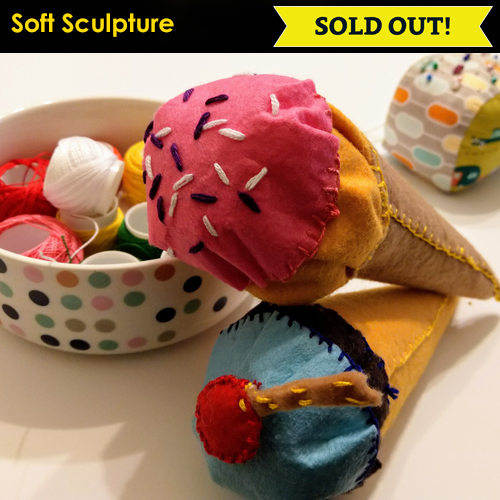 Icon Image Soft Sculpture SOLD OUT NC Conf 2019