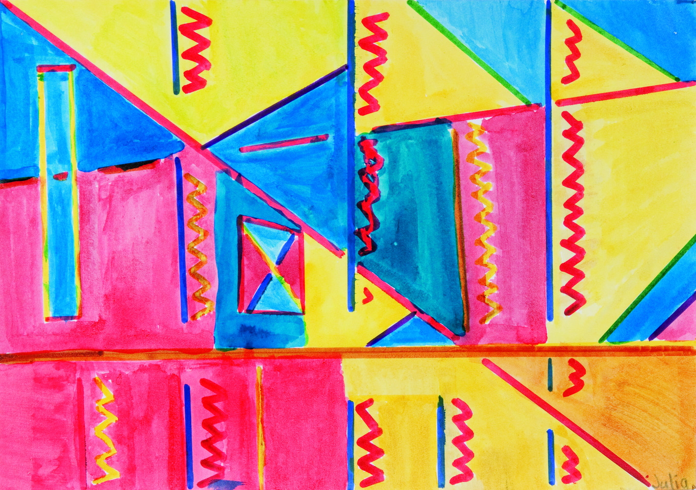 Teaching Mathematics Through Art 41