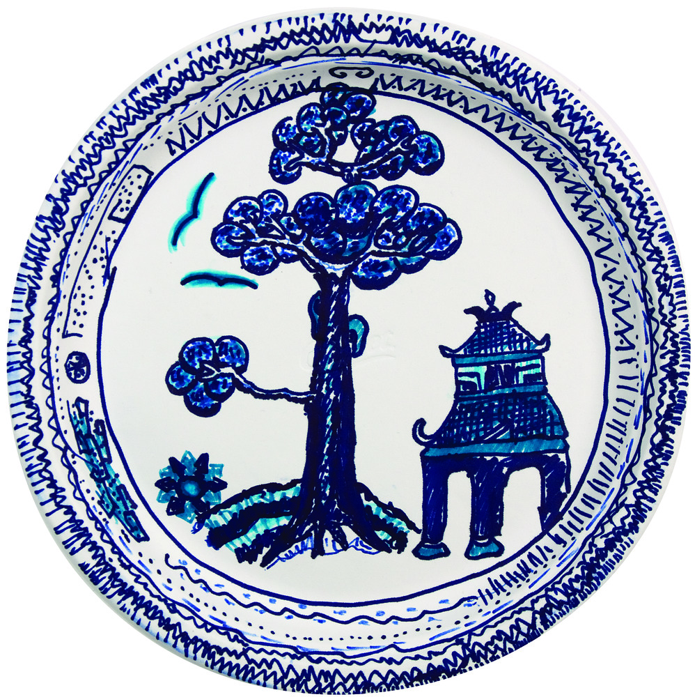 The Blue Willow Pattern 17