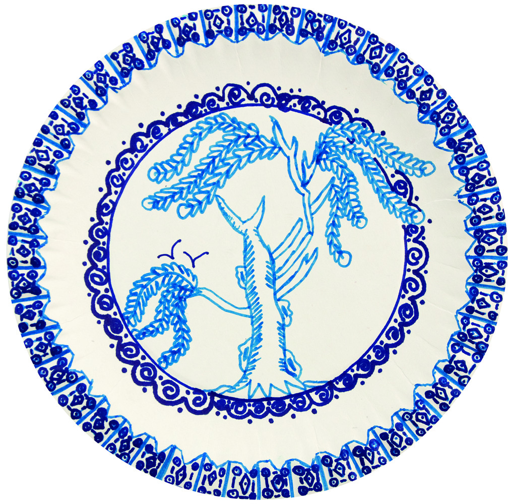 The Blue Willow Pattern 18
