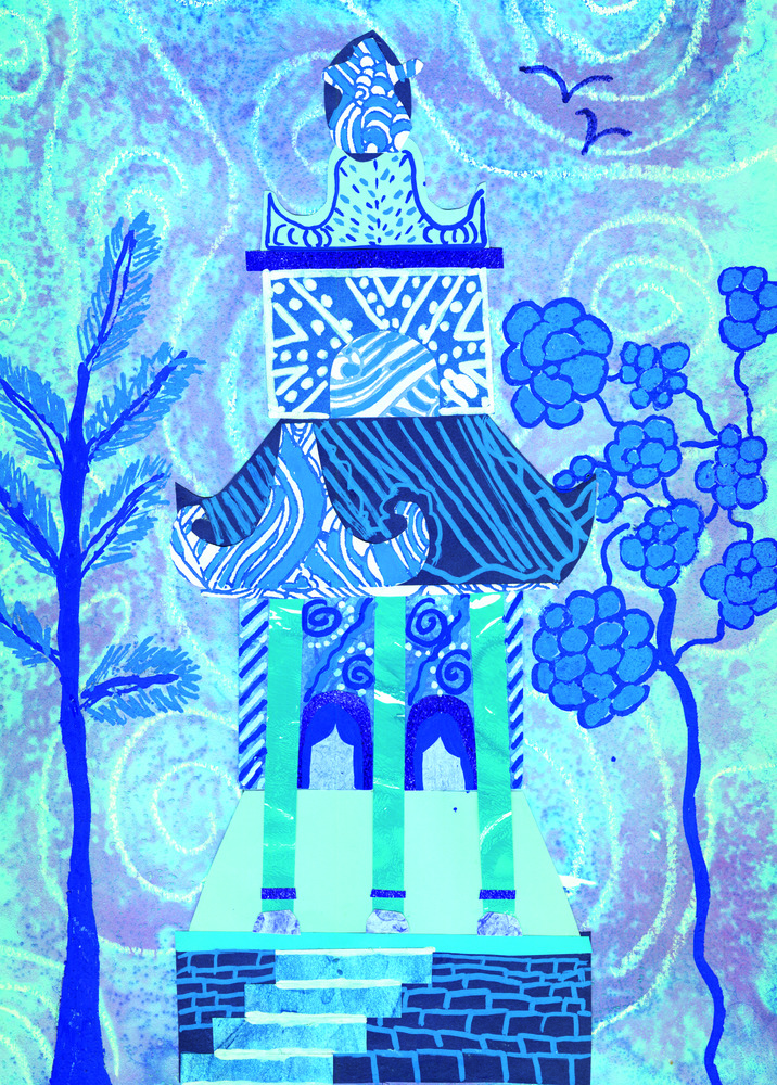 The Blue Willow Pattern 33