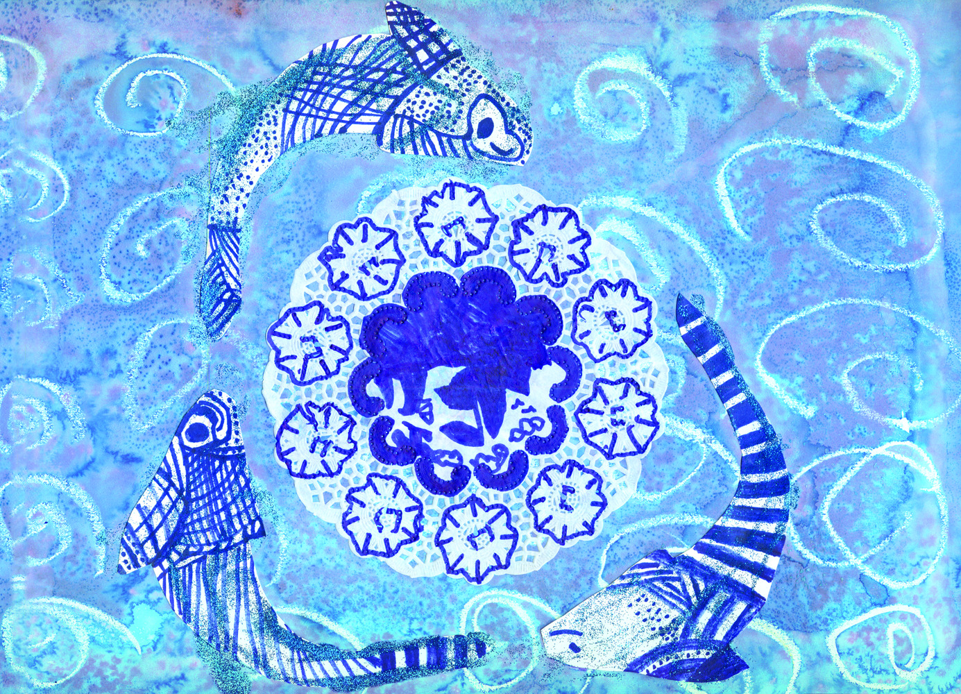 The Blue Willow Pattern 40