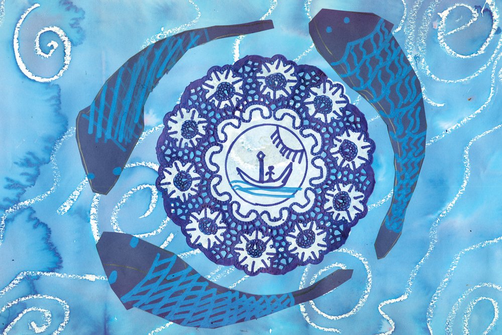 The Blue Willow Pattern 5